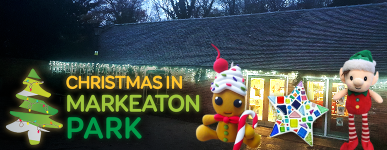 Get creative for Christmas in Markeaton Park