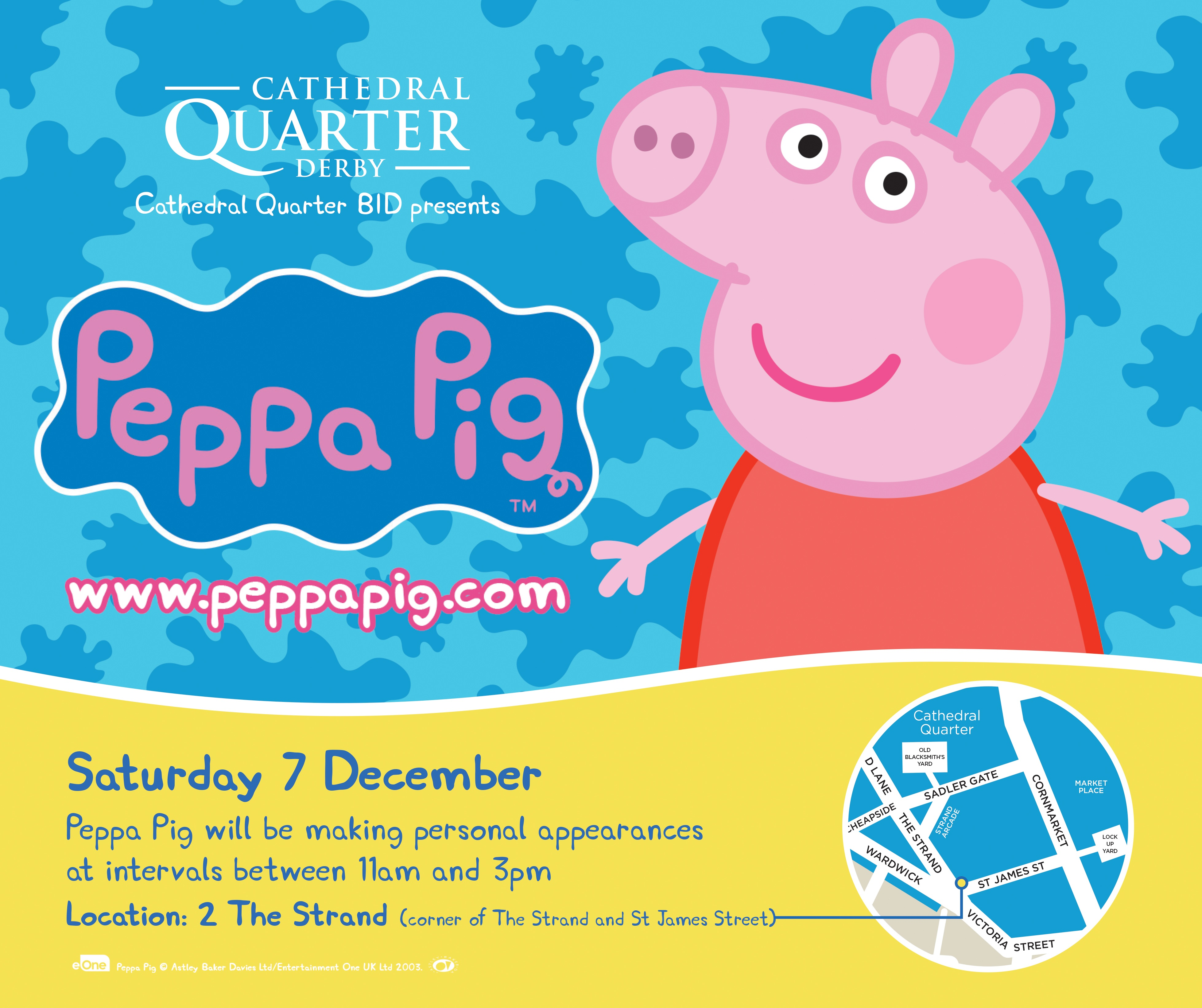 Festive Family Entertainment In Derby Cathedral Quarter