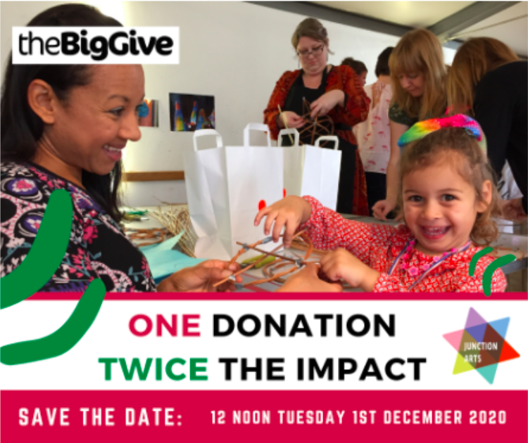 Junction Arts Big Give Christmas Challenge