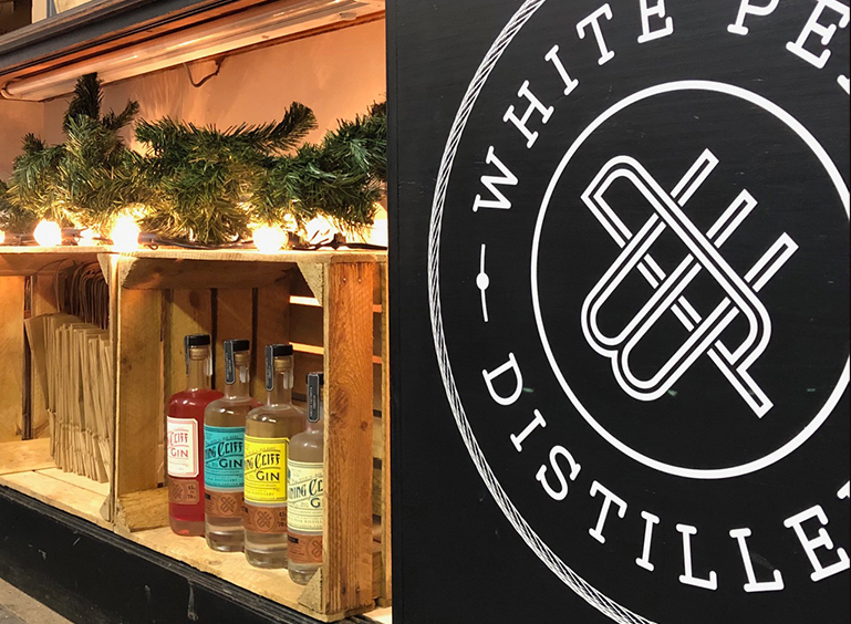 Visit The New White Peak Distillery Pop Up Shop