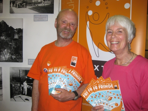 Fringe Programme Launches at Green Man Gallery