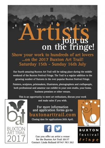 Artists Need Homes! Applications Open for 2017 Buxton Art Trail