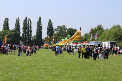 THE BIG 1 CARNIVAL ON CHADDESDEN PARK