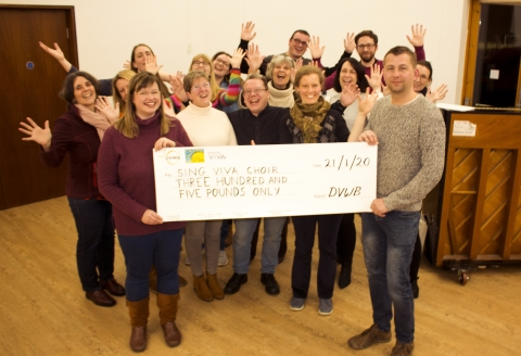 Local Band Supports Sing Viva Carers' Choir