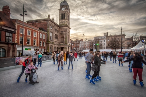 HOT NEWS!  THE CATHEDRAL QUARTER 3AAA CHRISTMAS ICE RINK TICKETS HAVE GONE ON SALE IN DERBY!