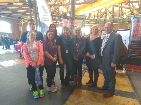 Derby College Students' Union Promotes Health and Wellbeing