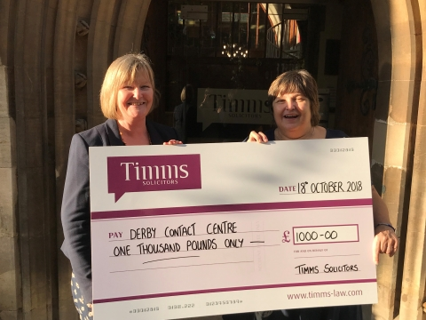 Timms Solicitors Conference Supports Local Charity