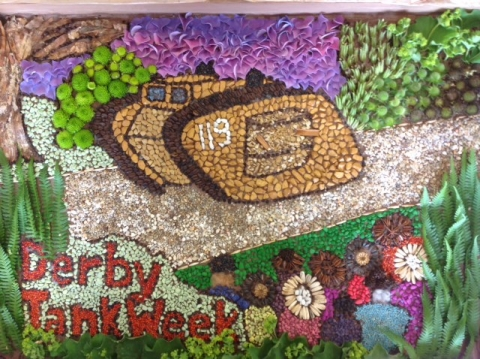 Derby Well Dressing Trail 2017 -  free drop-in workshops