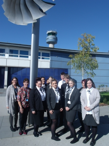 Career Opportunities Soar For Derby College Aviation Students