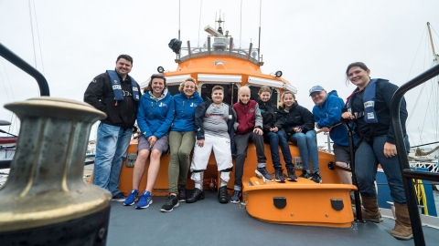 Round Britain voyage surpasses expectations for Derbyshire youngsters
