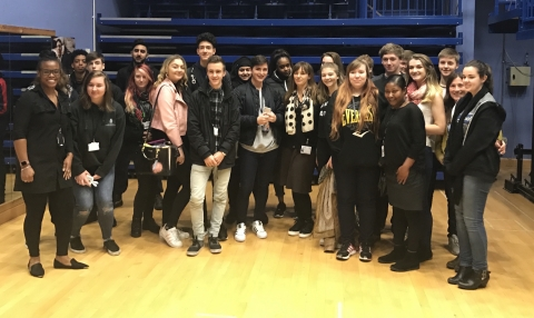Award winning screenwriter meets Derby College students