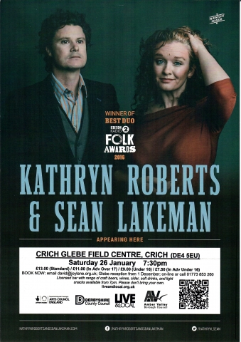 Kathryn Roberts & Sean Lakeman in Concert