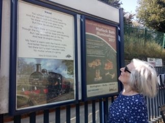 New poem unveiled at Belper station