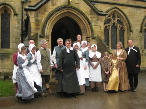 Eyam 350th Plague Commemoration: The Roses of Eyam Promenade Play