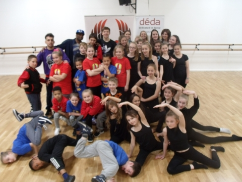 Déda and Trinity Warriors Launch Dance Partnership