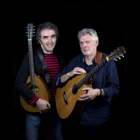 Steve Tilston and Jez Lowe Duo Debut Album Release and Tour Playing Pavilion Arts Centre Buxton Friday 17 March