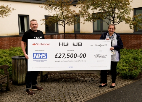 HUUB Community's Support Raises Thousands For NHS