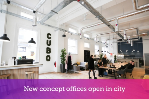 New concept offices open in city