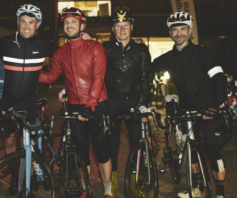 City Businessmen Complete Cycle Challenge