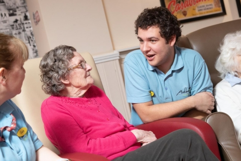 Derby College Group strengthens links with award-winning dementia care provider