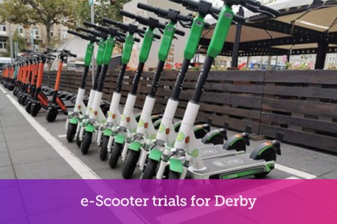 e-Scooter trials for Derby