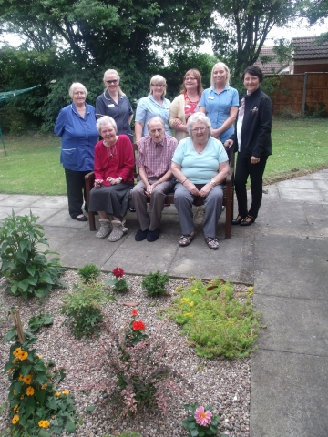 Memorial Garden Unveiled At Local Care Home