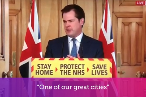 """One of our great cities"""