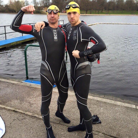 HUUB Design Support Greg James Triathlon Challenge