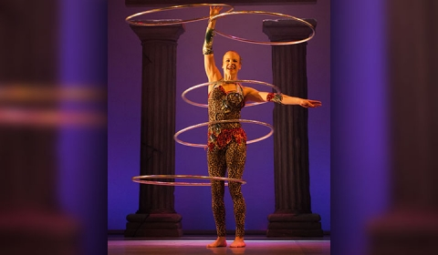 Hula Hoop Workshop Builds Excitement for Herculean Performance
