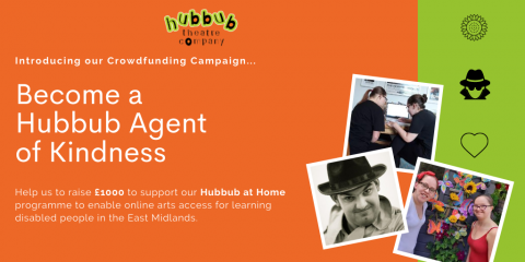 Crowdfunder update: Keep It Going! Become a Hubbub Agent of Kindness
