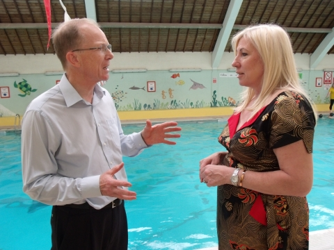 Derby North MP Lends Support For Lonsdale Pool Plans