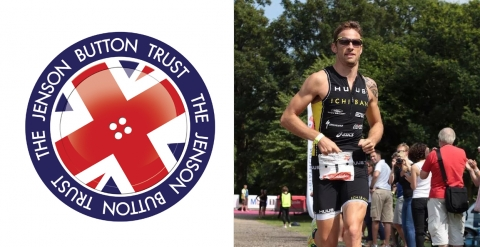Jenson Button Trust Triathlon Photograph