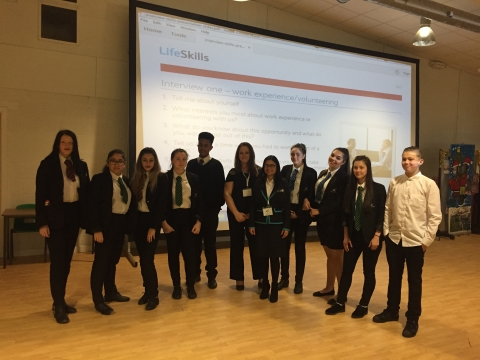 Merrill Academy Students Join Barclays Life Skills Workshops