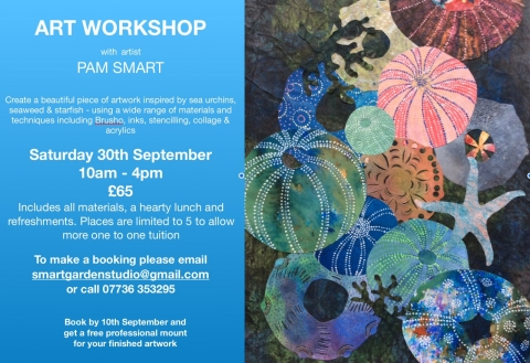 Art Workshop with Pam Smart