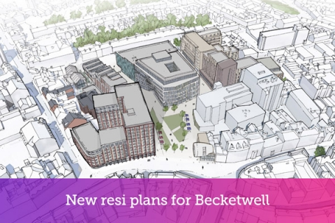 New resi plans for Becketwell