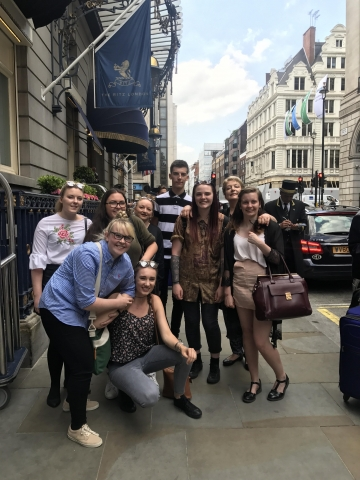 Derby College Students Experience Life At The Ritz