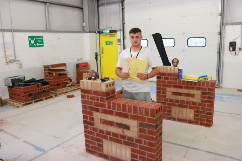 Derby College Hosts National Bricklaying Competition Final