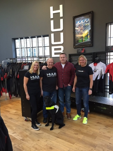 Paralympic Star Prepares For Ironman Challenge With HUUB Events