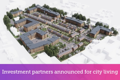 Investment partners announced for city living