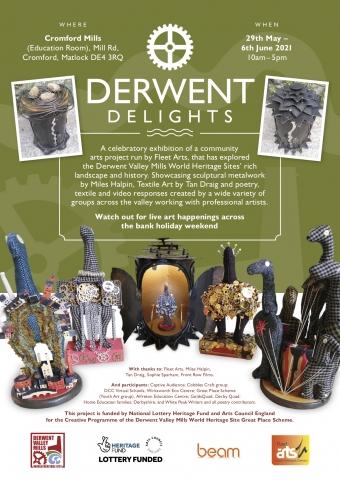 Fleet Arts: Derwent Delights Project