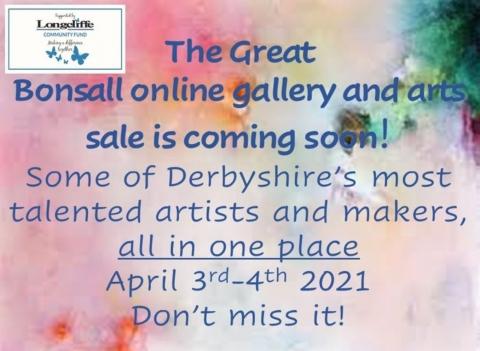 Bonsall Arts Trail Online Arts Sale Easter Weekend