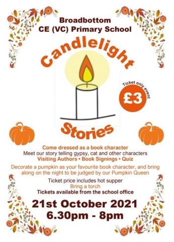 Candlelight Stories Event - Broadbottom Primary School