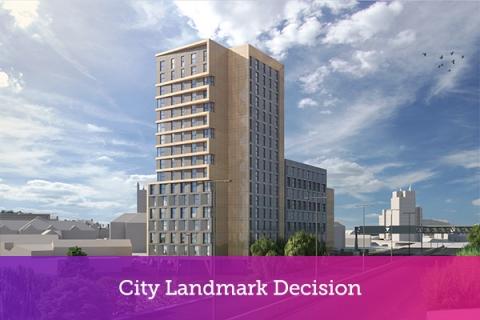 City Landmark Decision