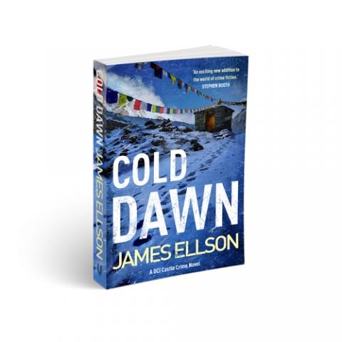James Ellson launches his new book 'Cold Dawn'