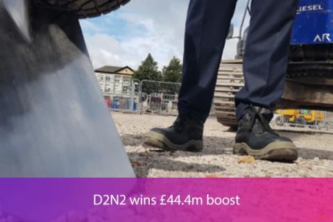 D2N2 wins £44.4m boost