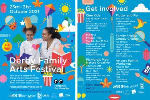 Derby Family Arts Festival 2021: In venues across Derby