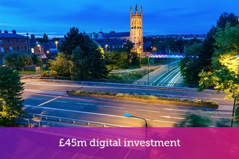 Digital transformation for Derby