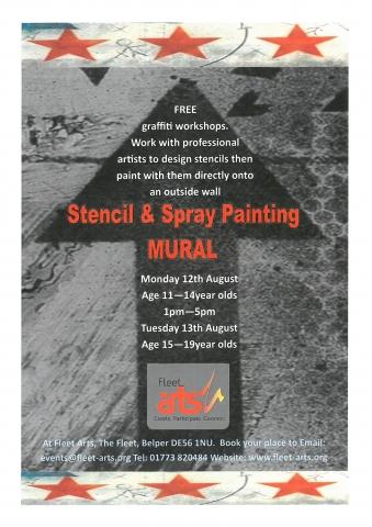 Free Graffiti Workshops at Fleet Arts