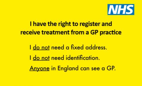 Healthwatch Derbyshire Supports GP Registration Drive