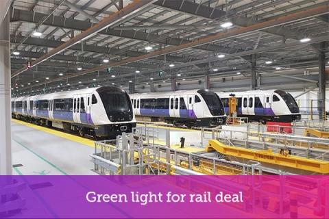 Green light for rail deal